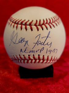 George Foster Certified Authentic Autographed Baseball