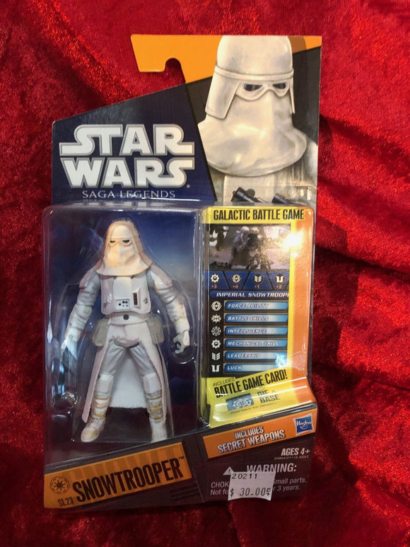 Snowtrooper Star Wars Action Figure