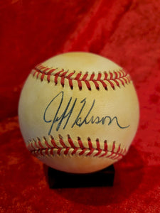 Jeff Hudson Guaranteed Authentic Autographed Baseball