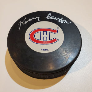 Kenny Rearden Certified Authentic Autographed Hockey Puck