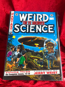 EC Archives Weird Science Volume 3 2008 NM HC Graphic Novel