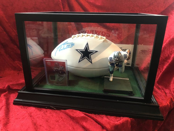 Jason Witten Cowboys Certified Authentic Autographed Football Shadowbox