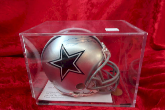 Mike Ditka Cowboys Autographed Certified Authentic Football Mini Helmet