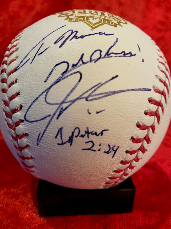 Josh Hamilton Guaranteed Authentic Autographed Baseball