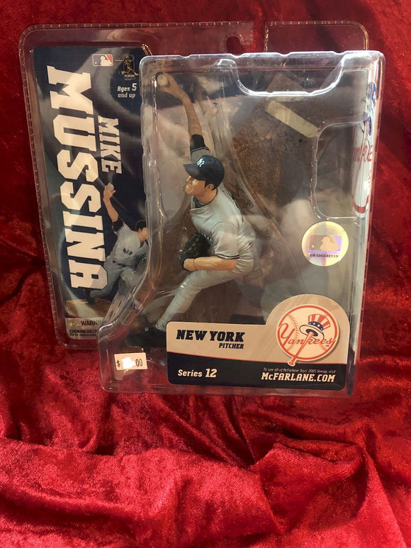 Mike Mussina McFarlane MBL Series 12 Baseball Figure