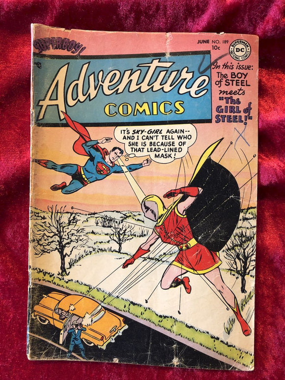 Adventure Comics #189 1953 Comic Book