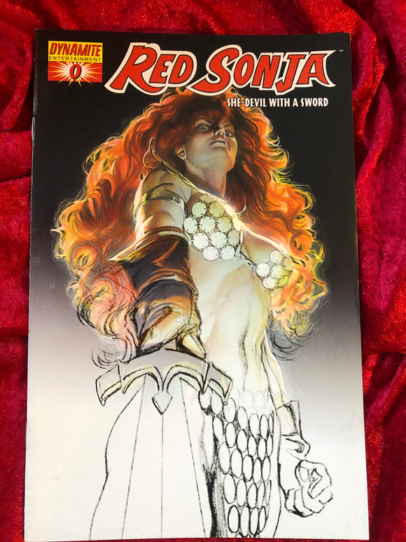 Red Sonja #0- Dynamite Alex Ross cover 2005 Comic Book