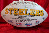 LeVeon Bell Pittsburgh Steelers Certified Authentic Autographed Football