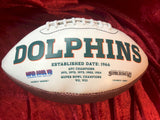 Bob Griese Dolphins Certified Authentic Autographed Football Shadowbox