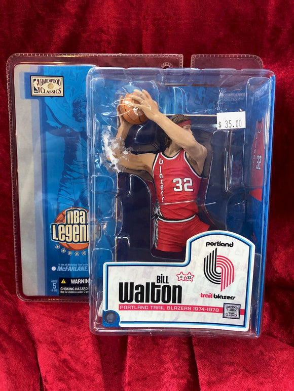 Bill Walton McFarlane NBA Legends Series 1 Basketball Figure