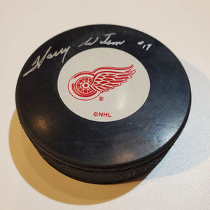 Harry Watson Certified Authentic Autographed Hockey Puck