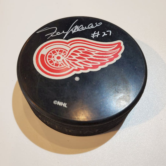 Frank Mahovlich Guaranteed Authentic Autographed Hockey Puck