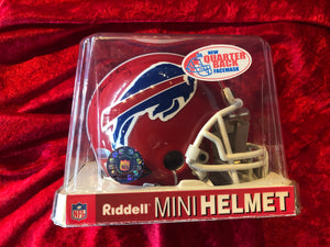 Thurmond Thomas Bills Autographed Certified Authentic Football Mini Helmet