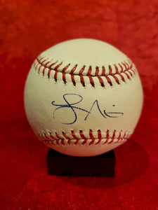 Lance Nixon Guaranteed Authentic Autographed Baseball