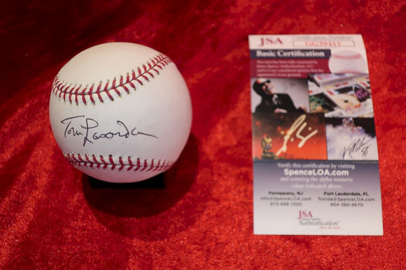 Tommy Lasorda Certified Authentic Autographed Baseball