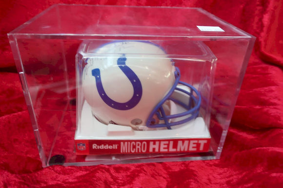Gino Marchetti Colts Autographed Certified Authentic Football Mini Helmet