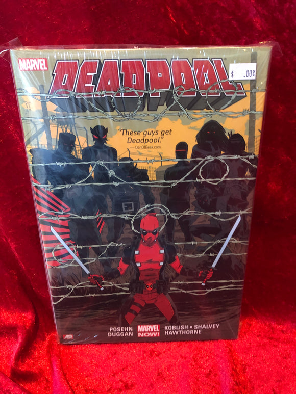 Deadpool by Posehn & Duggan Volume 2- 2015 VF/ NM Hard Cover Graphic Novel
