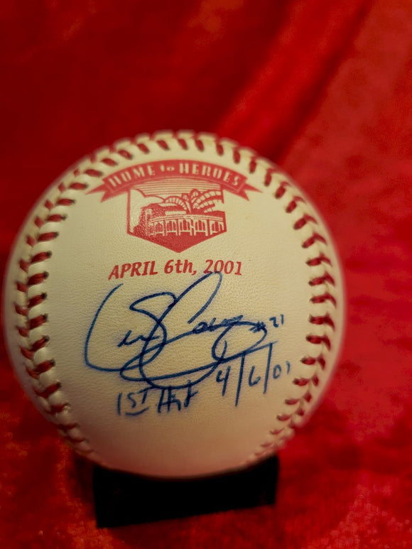 Sean Casey Guaranteed Authentic Autographed Baseball