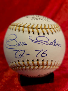 Ceaser Cedeno Certified Authentic Autographed Baseball
