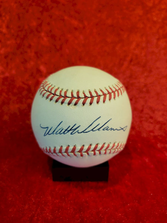 Matt Williams Certified Authentic Autographed Baseball