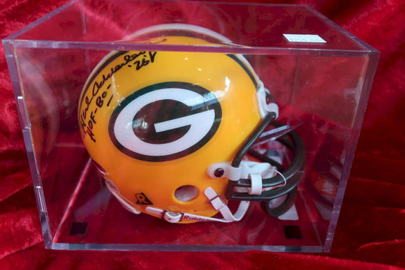 Herb Aderley Packers Autographed Certified Authentic Football Mini Helmet