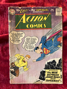 Action Comics #253 1959 Comic Book