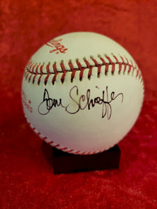 Tom Scheffer Guaranteed Authentic Autographed Baseball
