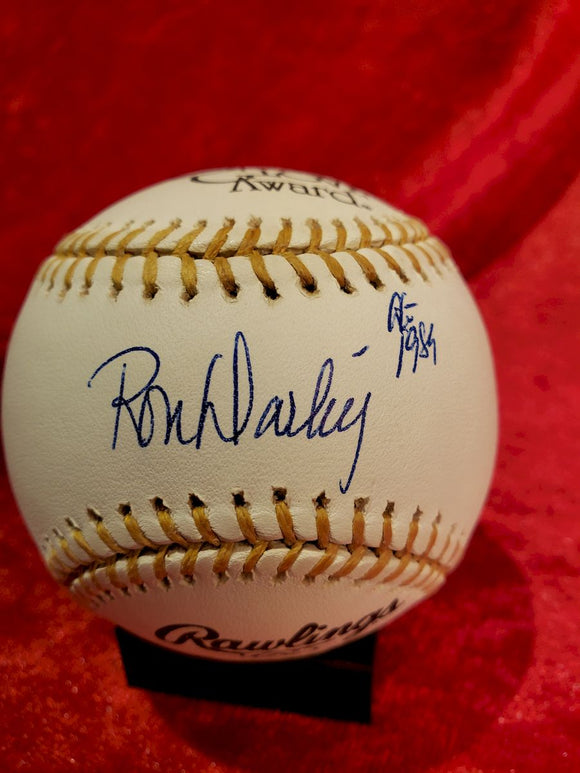 Ron Darling Certified Authentic Autographed Baseball