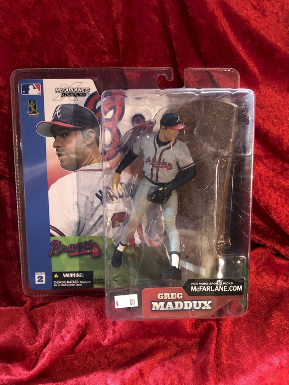 Greg Maddux McFarlane MLB Series 2 Baseball Figure