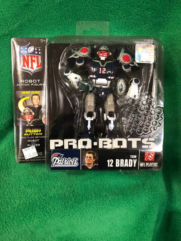 Tom Brady - ProBots Action Figure