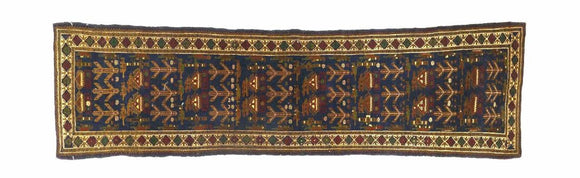 Afghan Tribal War Hand Tied Rug