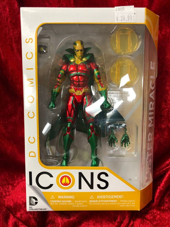 Mister Miracle- DC Comics ICONS Action Figure