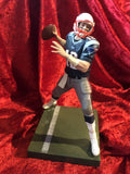 Tom Brady Patriots Guaranteed Authentic Autographed Mini-helmet Shadowbox