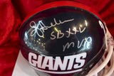 Ottis Anderson Giants Autographed Certified Authentic Football Mini Helmet