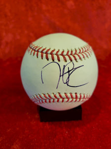 Dustin Pedroia Certified Authentic Autographed Baseball