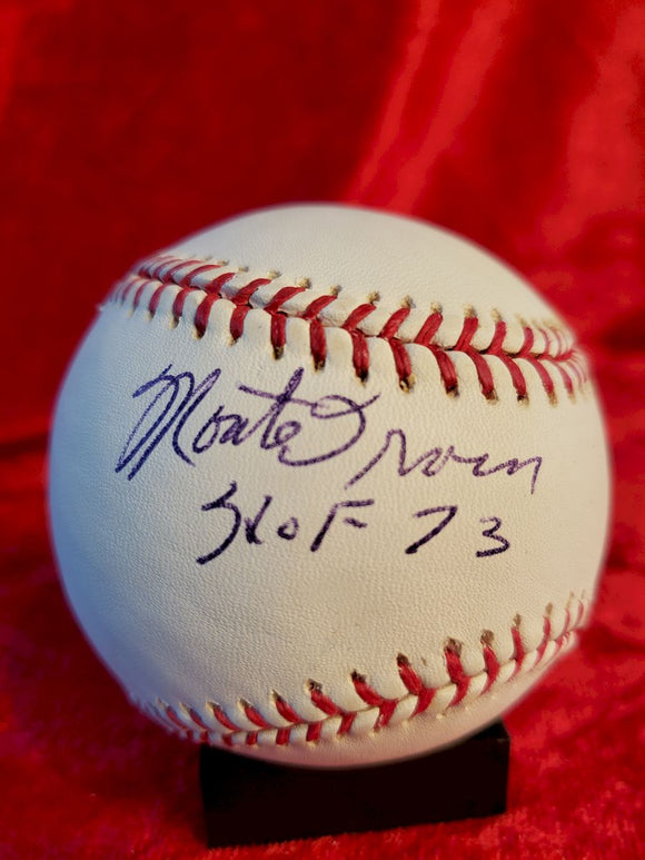 Monte Irvin Certified Authentic Autographed Baseball