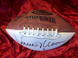 Warren Moon Certified Authentic Autographed Football