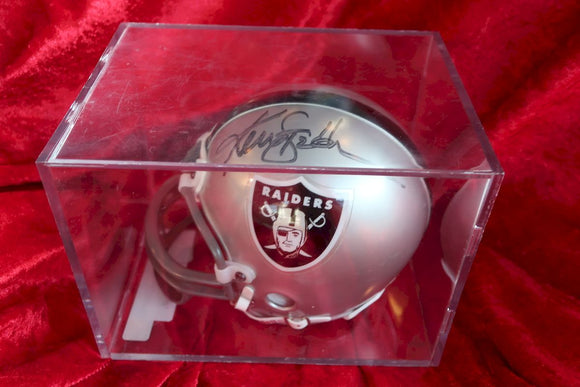 Ken Stabler Raiders Autographed  Football Mini Helmet