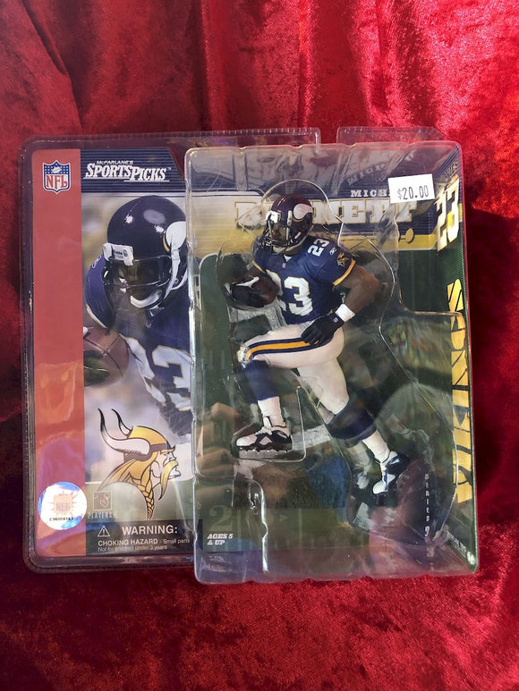 Michael Bennett McFarlane NFL Series 3 Football Figure