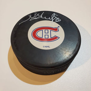 Henri Richard Certified Authentic Autographed Hockey Puck