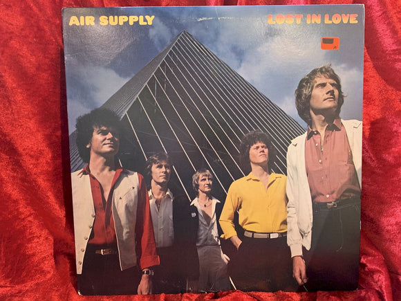 Air Supply Lost in Love- (misprint) 33 LP Album