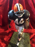 Leroy Kelly Browns Guaranteed Authentic Autographed Mini-helmet Shadowbox