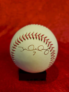 David Murphy Guaranteed Authentic Autographed Baseball