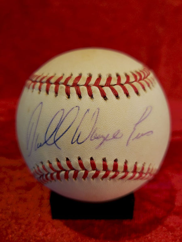 Darrell Evans Certified Authentic Autographed Baseball