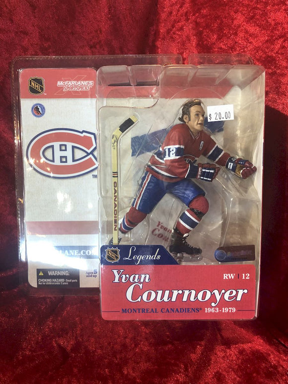 Yvan Tournoyer McFarlane NHL Legends Series 1 Hockey Figure