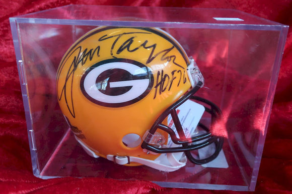 Jim Taylor Packers Autographed Certified Authentic Football Mini Helmet