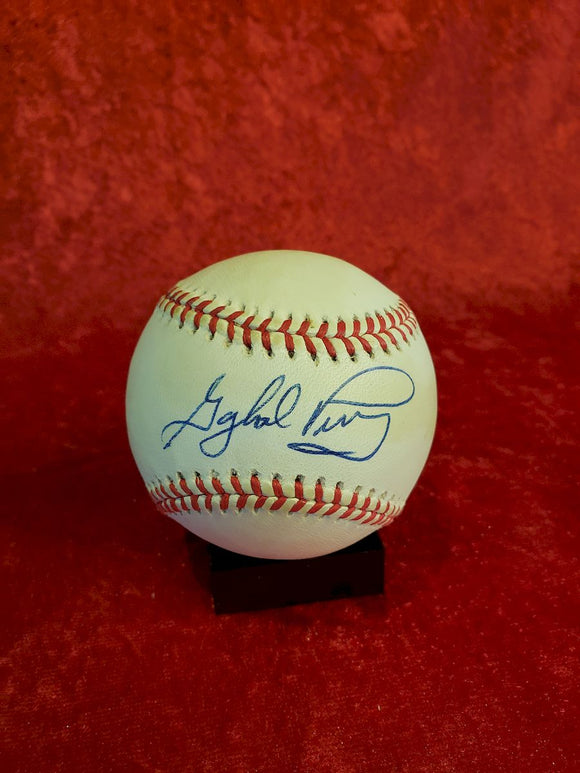 Gaylord Parry Certified Authentic Autographed Baseball