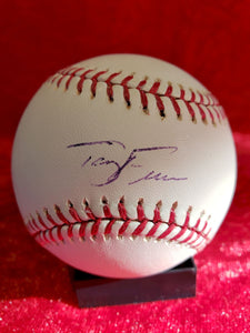 Terry Francona Certified Authentic Autographed Baseball