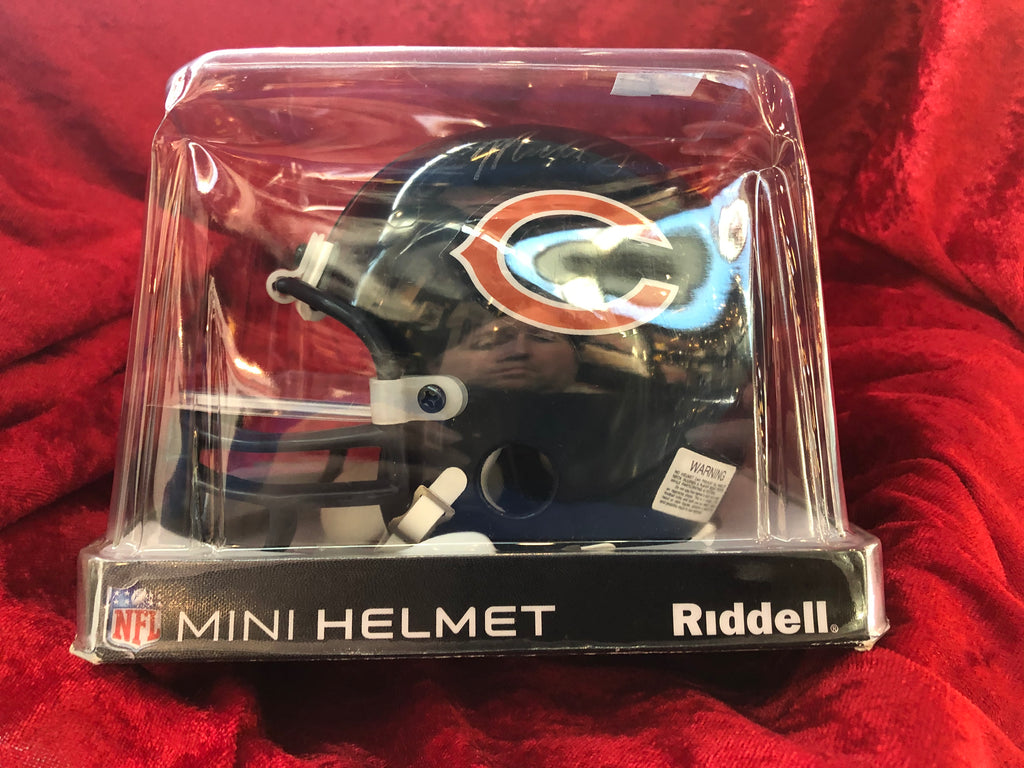 Gale Sayers Bears Autographed Certified Authentic Football Mini Helmet