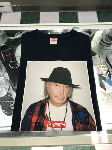 2015 Supreme Neil Young photo tee
